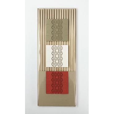 [cohana]お箸飾り8枚セット・祝い箸付き