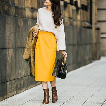 [estilo de koko]ダブルクロススカート