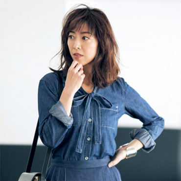 [Rivet&Blue]SHデニムシャツ
