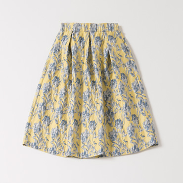 [BRAHMIN]ジャガードスカート
