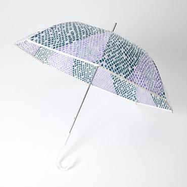 [MOONBAT]【cocca】ダイヤ柄ビニール長傘