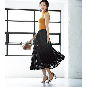 [Grace Class]大人のレーススカート