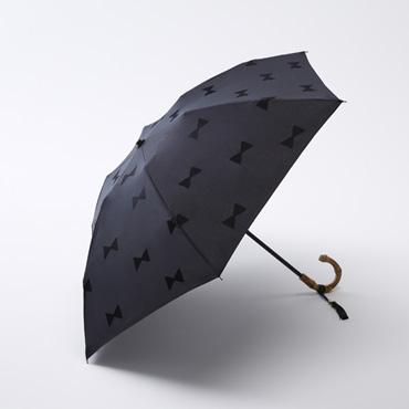 [Saison Tourne]晴雨兼用折りたたみ傘 RIBBON