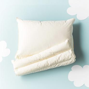 [BOMA]折り重ね枕(ピローケース付)