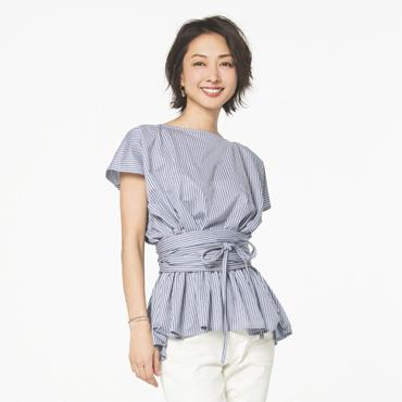 [MARIEBELLE JEAN]Sash Shirt