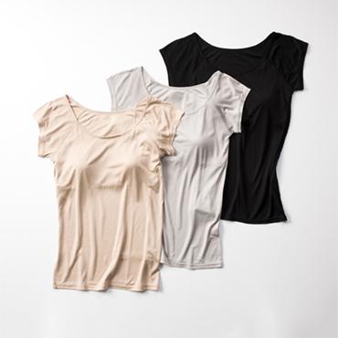 [Malyne]カップ付フレンチ袖