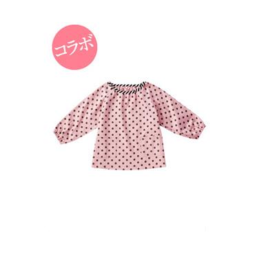 [ララドレス]スモック(ピンク)
