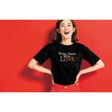 [VICENDA]DO ALL THING WITH LOVEロゴTシャツ