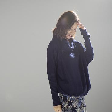 [Seraphine]ロールネックセーター