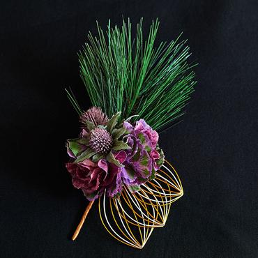 [Wako's Room]お屠蘇飾り 紫雲
