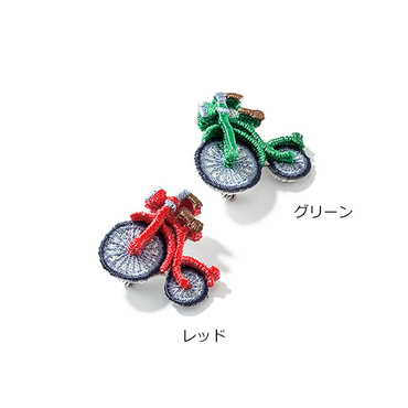 [LM]自転車ブローチ