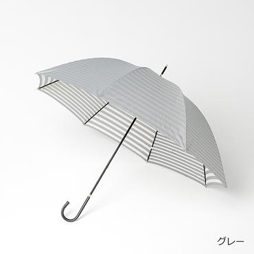 [LAZY SUSAN]【LS scene】 内側プリント長傘(ストライプ)