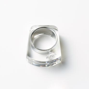 [JUTIQU]Glam Ring 1 silver