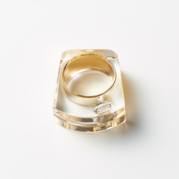 [JUTIQU]Glam Ring 1 gold