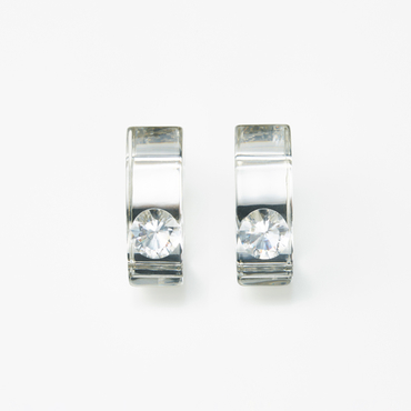 [JUTIQU]Glam Earring 1 silver