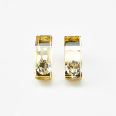 [JUTIQU]Glam Earring 1 gold
