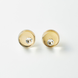 [JUTIQU]Glam Earring 3【S】 gold