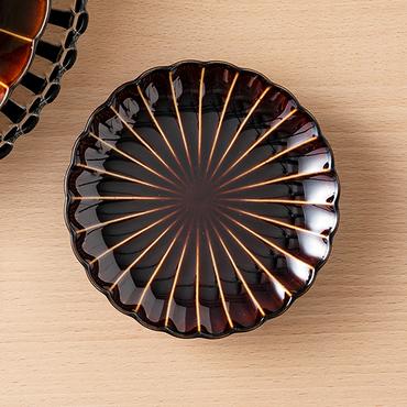 [ALART]ぎやまん陶 4.5寸皿