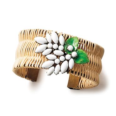 [ADER.bijoux]リラ ラタンバングル