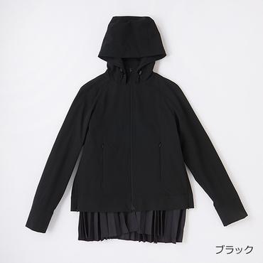 [DANSKIN]ストレッチプレーテッドジャケット