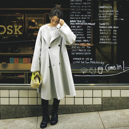 [GALERIE VIE]別注色リバーコート