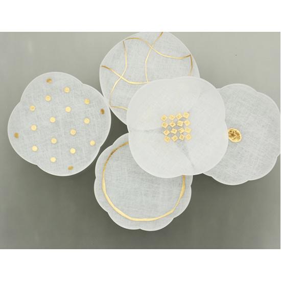 [toumei]箔mamezara 4枚セット