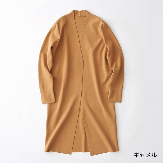 [SOEJU]ロングニットジャケット