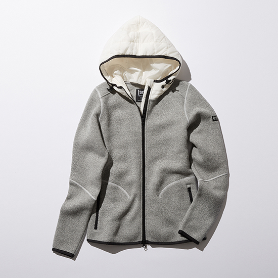 [[sn]super.natural]W COMBINATION HOODIE