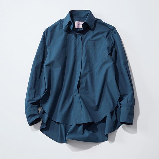 [BAGUTTA]バックフリルシャツ