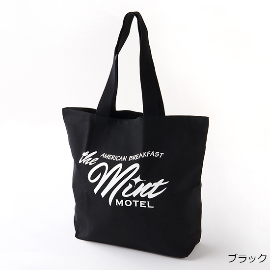 [The MINT MOTEL]バッグL/ミントロゴ