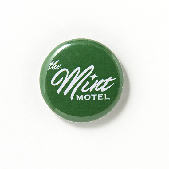 [The MINT MOTEL]缶バッジ