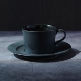 [M kurakuen]ブラックカップ&ソーサー