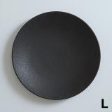 [M kurakuen]黒曜モダンブラックプレート ディナー【L】