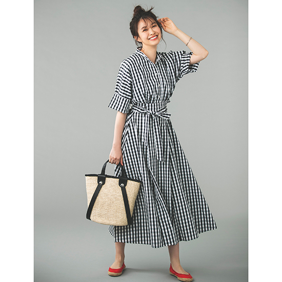 [anana]SET UP風半袖シャツOP