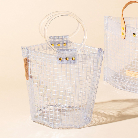 [TheContainerShop]CLEAR バッグ