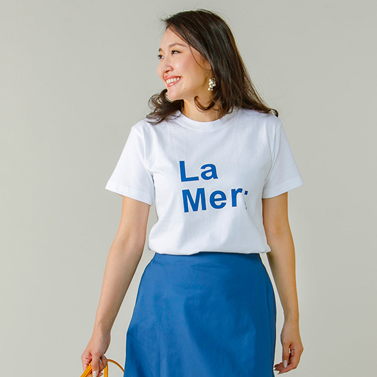[denicher]LaMerロゴTシャツ
