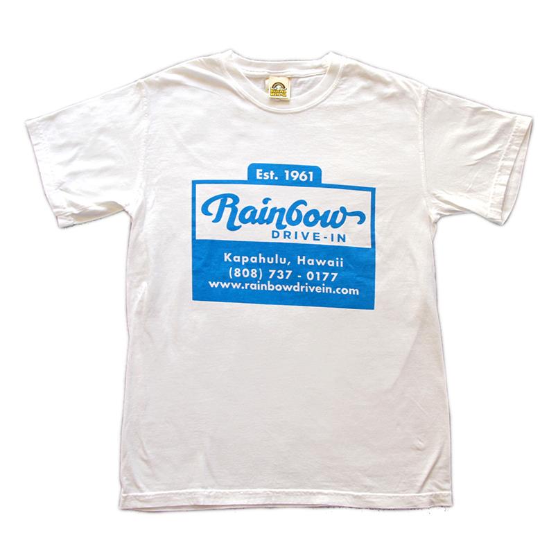 [Rainbow Drive-In]Men's Cup logo Tシャツ