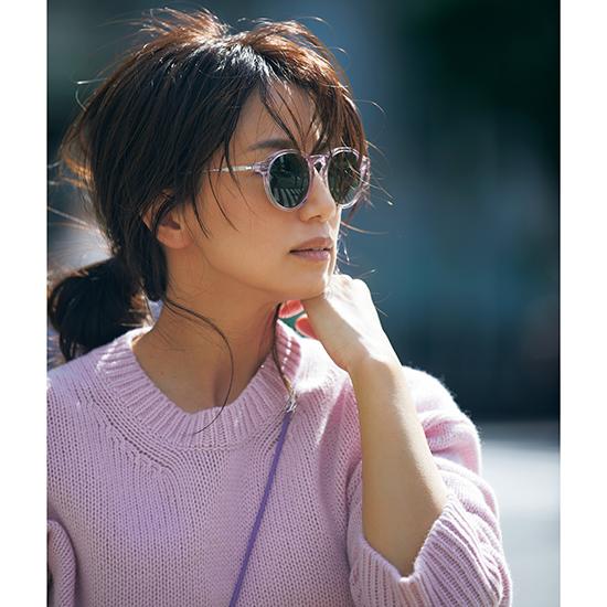 [GALERIE VIE]【VERY別注色】クルーネックニットトップス(ピンク)