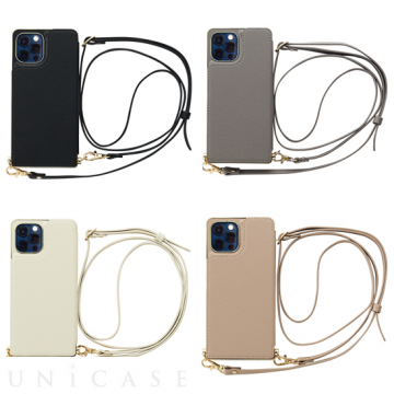 [UNiCASE]【MAELYS LOUNA】 Cross Body Case for iPhone12/12Pro 【iPhone12/12 Pro ケース】