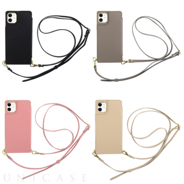 [UNiCASE]【MAELYS LOUNA】 Cross Body Case for iPhone 11/XR 【iPhone11/XR ケース】