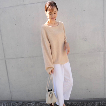 """[BLANC]baby color knit"""