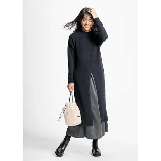 [LILLY LYNQUE]ニットドレス&スカート
