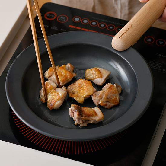 [FRYING PAN JIU]フライパンジュウM&ハンドルセット(ビーチ)