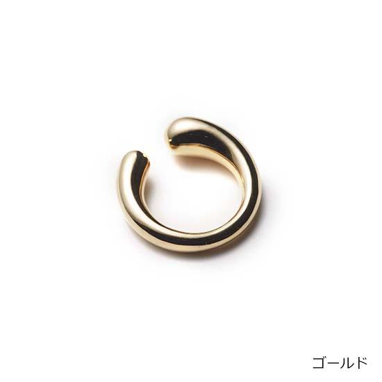 [NOMG]ドロップリング兼イヤーカフ(ゴールド)