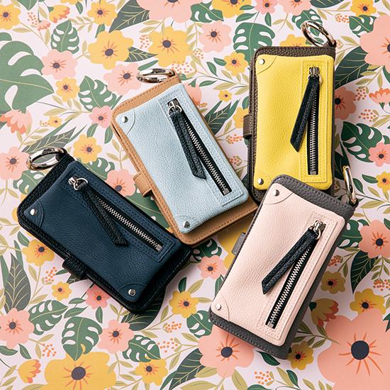 [A SCENE]B&C Flip pocket case