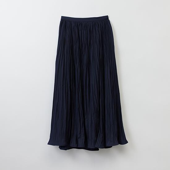 [Mila Owen]ワッシャープリーツナロースカート