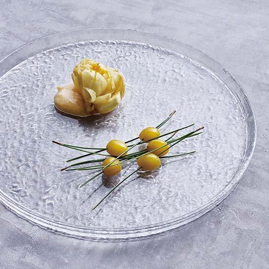 [ALART]うたかたガラスプレート 【24cm】