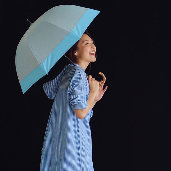 [BICHERIE.]100%完全遮光 晴雨兼用日傘 A-折りたたみ