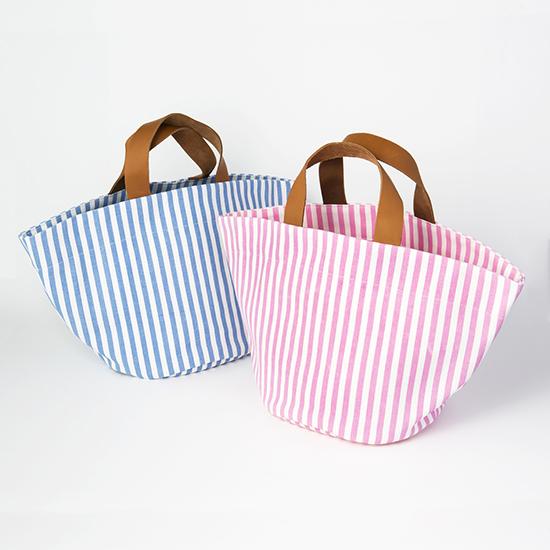 [BLANC]ストライプバッグ