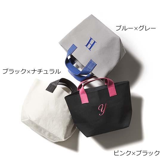 [HACHI]イニシャルキャンバストート ミニ